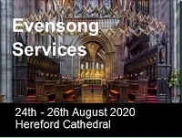 Evensong, Hereford Cathedral